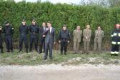 Ćwiczenia taktyczno-bojowe w gminie Opatowiec