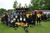 Powiatowe zawody sportowo - pożarnicze