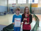 Powiatowy Drużynowy Turniej Tenisa Stołowego w Kazimierzy Wielkiej