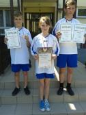 Sukcesy lekkoatletyczne uczniów ze szkoły w Opatowcu