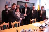 Podpisanie pre-umów na termomodernizację szkół