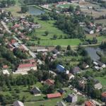 Gmina Opatowiec z lotu ptaka