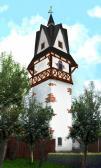 Wizualizacja wieży hejnałowo-zegarowej w Opatowcu