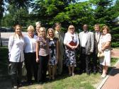 Wizyta dyplomaty  z ambasady Nigerii w Warszawie