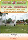 Zaproszenie na Gminne Zawody Sportowo - Pożarnicze