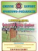 Zaproszenie na Gminne Zawody Sportowo-Pożarnicze