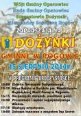 Zaproszenie na Dożynki Gminne w Rogowie