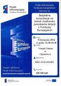 Bezpłatne konsultacje na temat możliwości pozyskania dotacji z Funduszy Europejskich