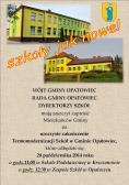 Zaproszenie na uroczyste zakończenie Termomodernizacji Szkół