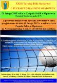 XXIII Turniej Piłki Siatkowej o Puchar Wójta Gminy Opatowiec
