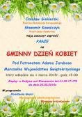 Zaproszenie na Gminny Dzień Kobiet