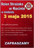 Zaproszenie na obchody Dnia Strażaka