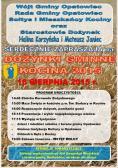 Zaproszenie na Dożynki Gminne w Kocinie 2015