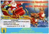 Zaproszenie na spotkanie ze Św. Mikołajem