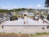 Odnowiona zbiorowa mogiła żołnierzy Września 1939 roku w Kocinie