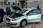Nowy radiowóz dla kazimierskiej policji