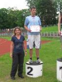 Srebrny medal  w Wojewódzkich Igrzyskach Młodzieży Szkolnej